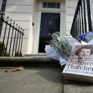 Former British Prime Minister Margaret Thatcher Has Died