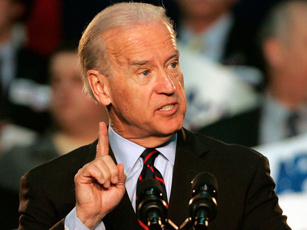 Vice President Biden, shown last week, says he believes job creation is heading in the right direction.
