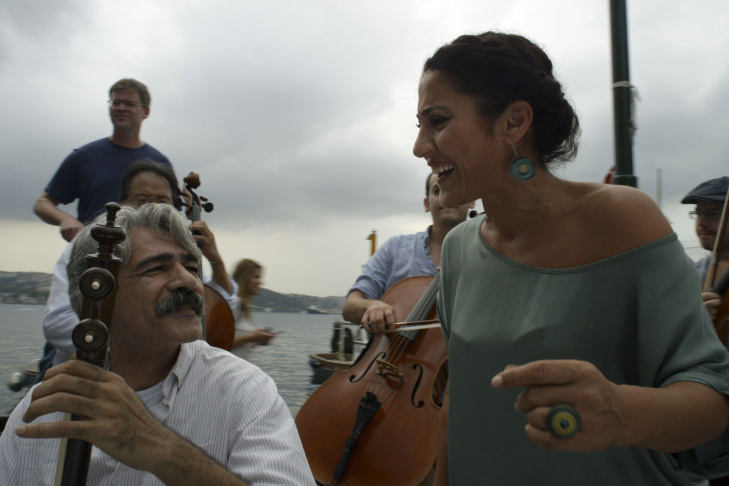 """In the new documentary, """"The Music of Strangers: Yo-Yo Ma and the Silk Road Ensemble,"""" you see him travel the world playing with all sorts of musicians from all sorts of cultures."""