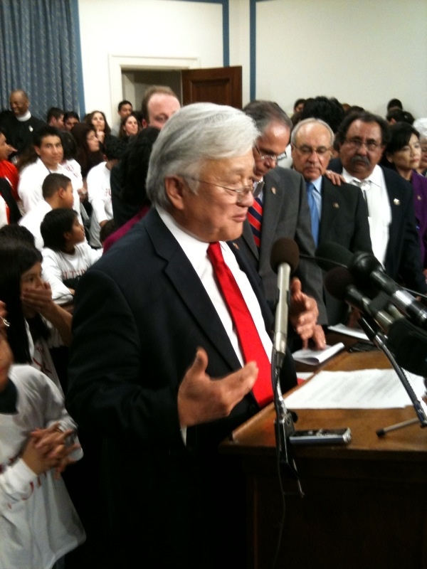 Democratic Congressman Mike Honda of San Jose has already received prominent endorsements for the 2014 election.