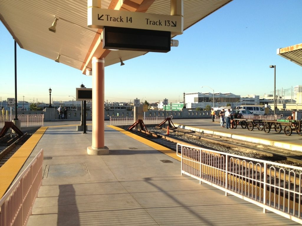 Three new tracks and a new platform have been added at LA's Union Station to accommodate more passengers.