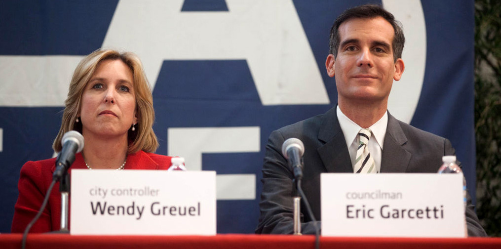 It's the final day of the mayoral campaign for Wendy Greuel and Eric Garcetti.