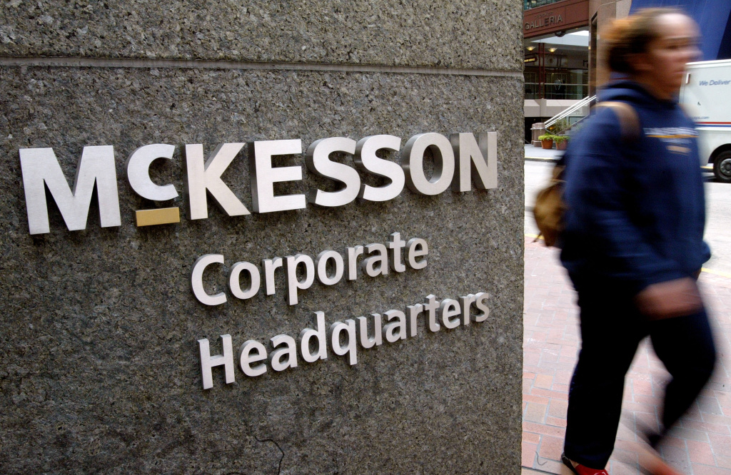 McKesson managed to pay no California taxes the last three years.