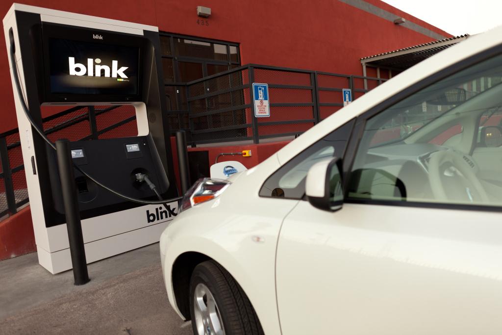 ECOtality's Blink DC charger won the day in LA. But it's in a war with NRG's eVgo over territory on California's electric highway.