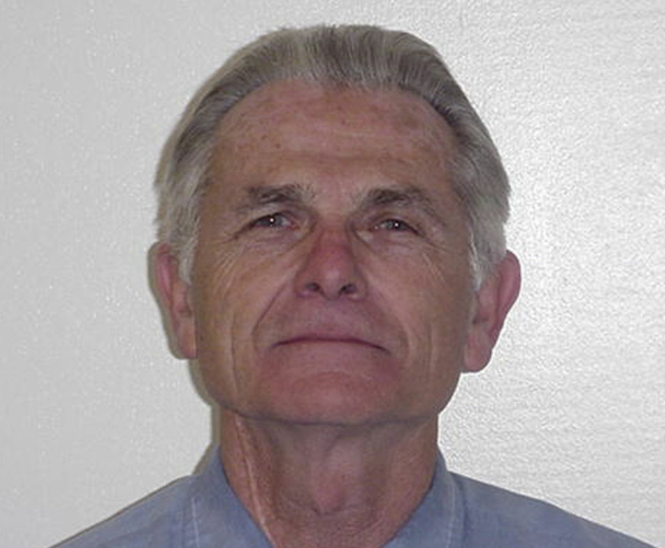 FILE - In this undated file photo provided by the California Department of Corrections and Rehabilitation shows Bruce Davis. Davis was convicted in the 1969 slayings of musician Gary Hinman and stuntman Donald