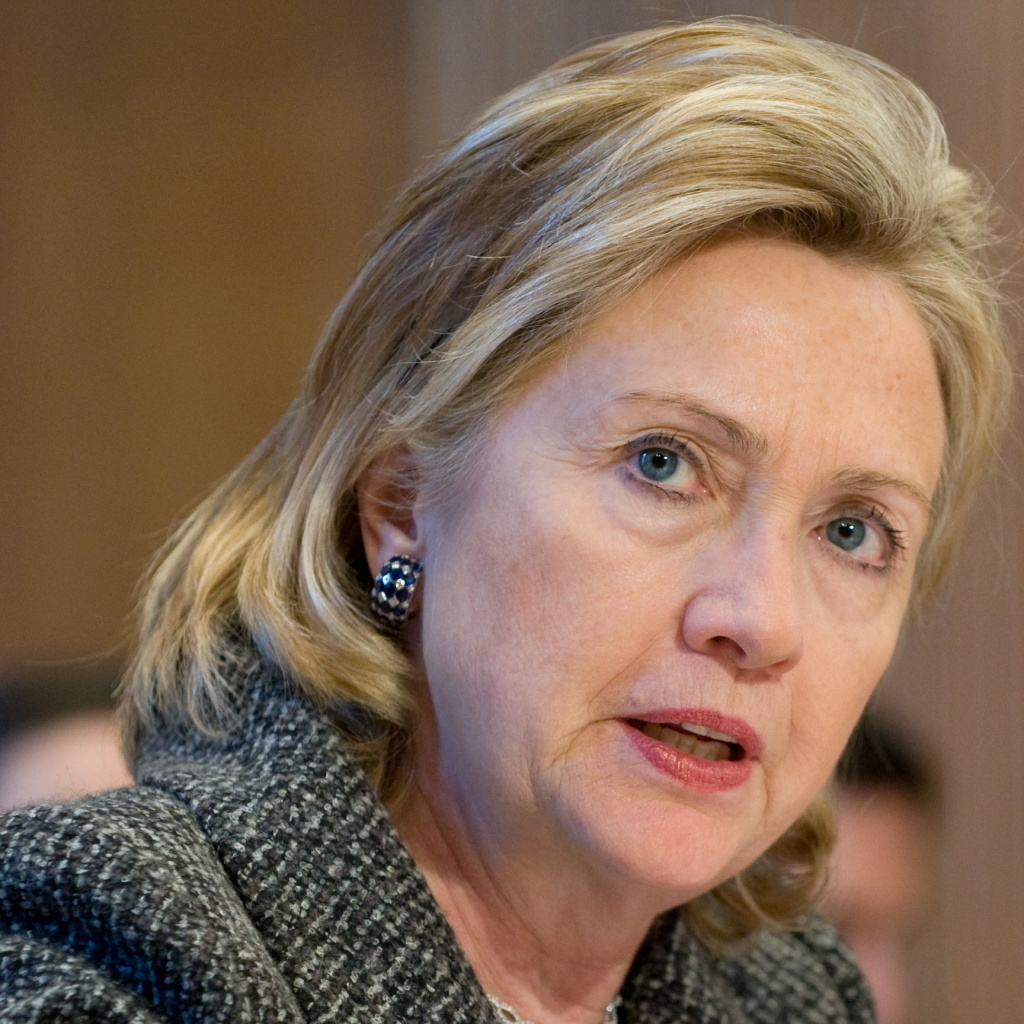 Then-Secretary of State Hillary Clinton testifies before the Senate Appropriations Committee in this 2010 file photo. Clinton's lawyer wrote to lawmakers Monday, May 4, 2015, telling them she would agree to testify before a special panel investigating the September 2012 attacks in Benghazi, Libya, that killed four Americans.