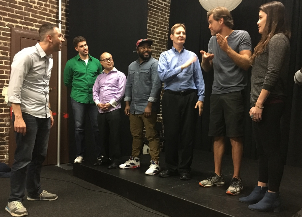 The new comedy improv class, offered by Second City in Hollywood, aims to teach veterans the skills of acting and improvisation in a safe space.