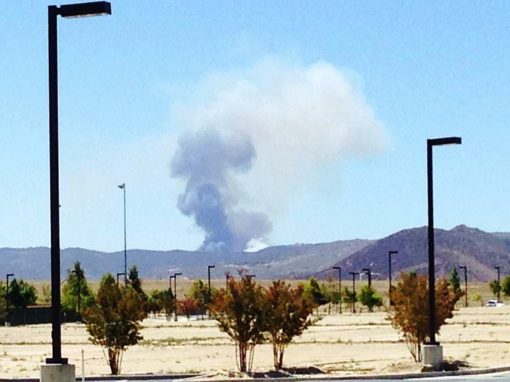 The Sabina Fire in Riverside County broke out in Riverside County on July 23, 2014.