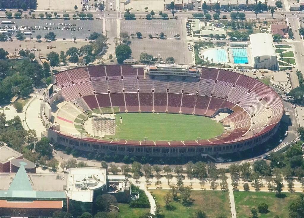 The Los Angeles Memorial Coliseum