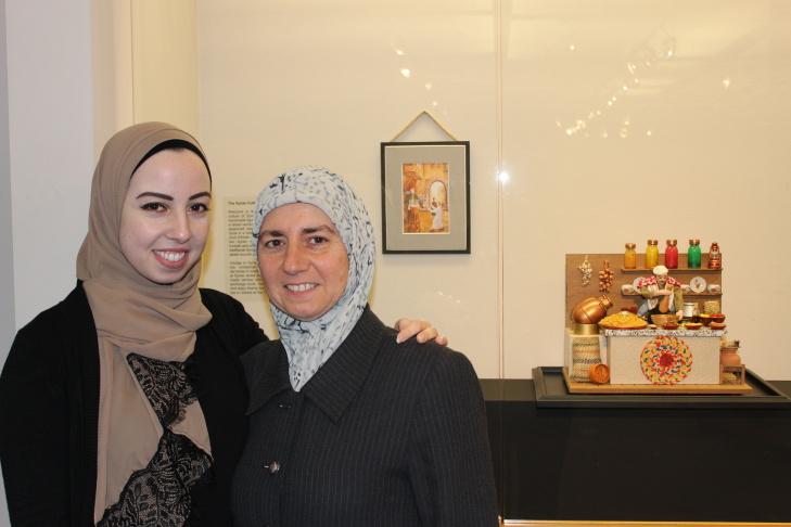 Dania Alkouli and Maria Khani, co-curators of
