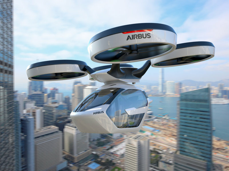 Airbus is one of more than a dozen companies actively developing flying cars.