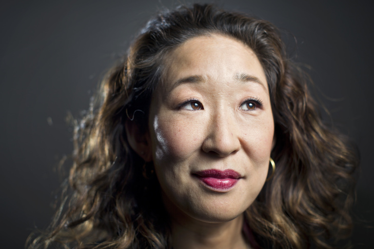 Actress Sandra Oh.