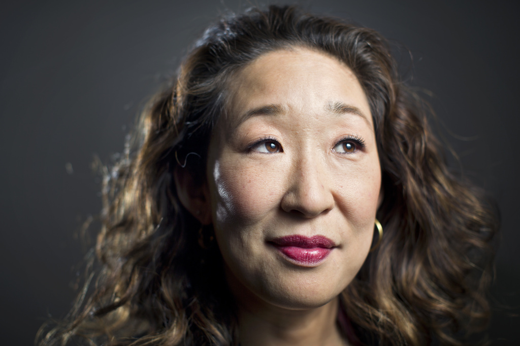 Actress Sandra Oh won the best dramatic television actress award at the Golden Globes on Jan. 6, 2019.