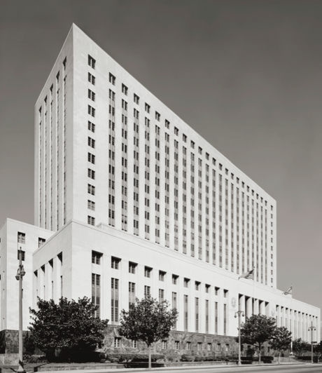 The U.S. Courthouse on Spring Street in downtown Los Angeles.