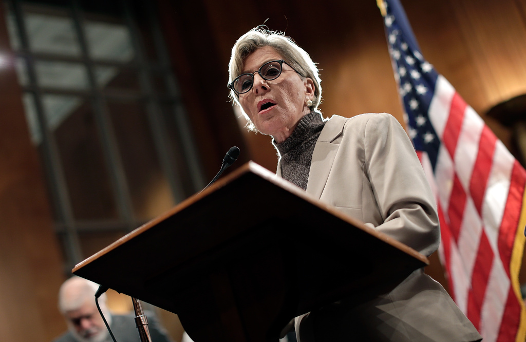 U.S. Sen. Barbara Boxer (D-CA) speaks at a news conference on Capitol Hill October 8, 2013 in Washington, DC.