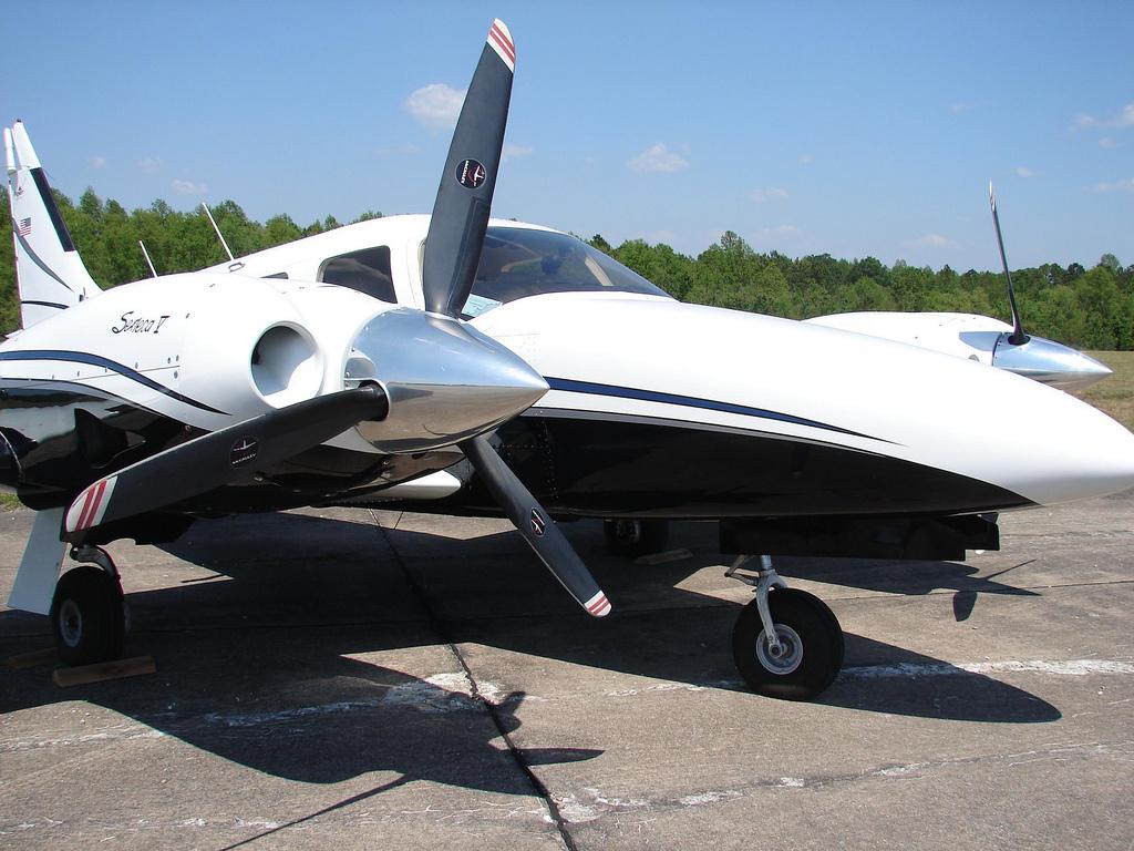 A six-seat aircraft.