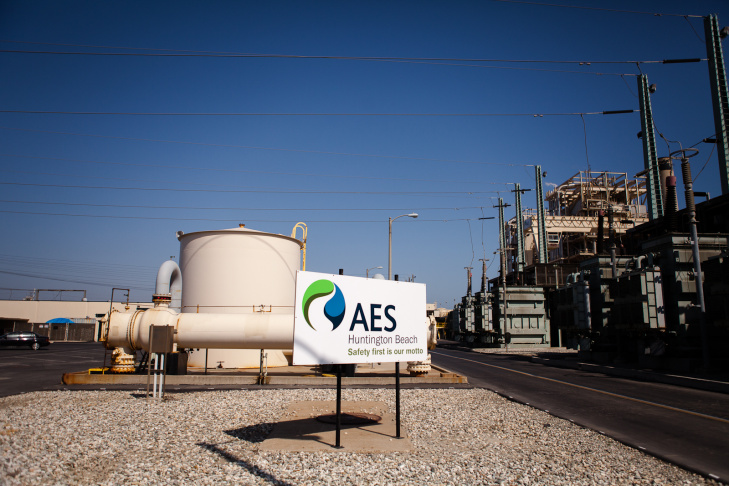 The AES power plant at Huntington Beach is providing electricity for about 25% of the Southern Californians affected by the year-long closure of the San Onofre Nuclear Generating Station. The nuclear plant has been shut down since a radioactive steam leak on January 31, 2012.