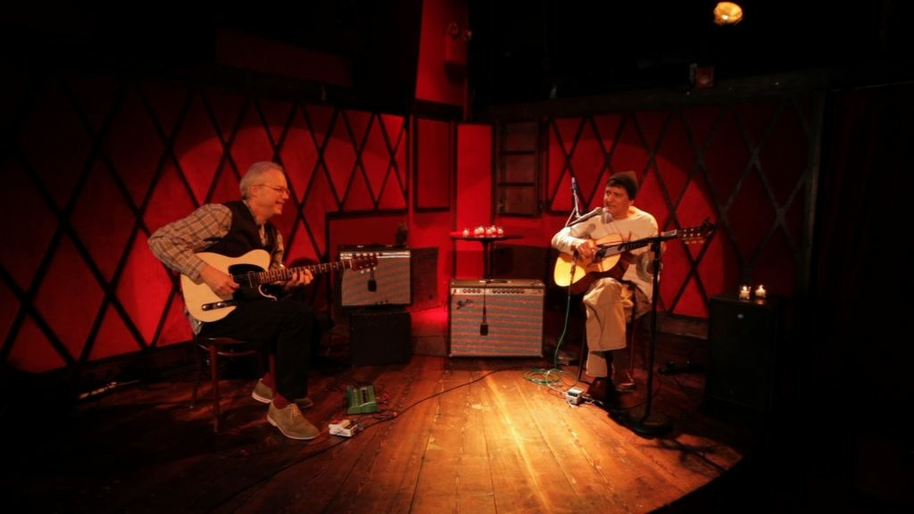 Bill Frisell and Vinicius Cantuária
