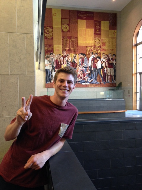 Nick Fagnano, 20, died following a lightning strike in Venice Beach on Sunday, July 27, 2014.