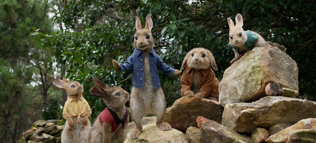 Film still from Columbia Pictures' PETER RABBIT.
