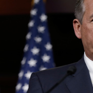 John Boehner Holds Press Briefing At Capitol