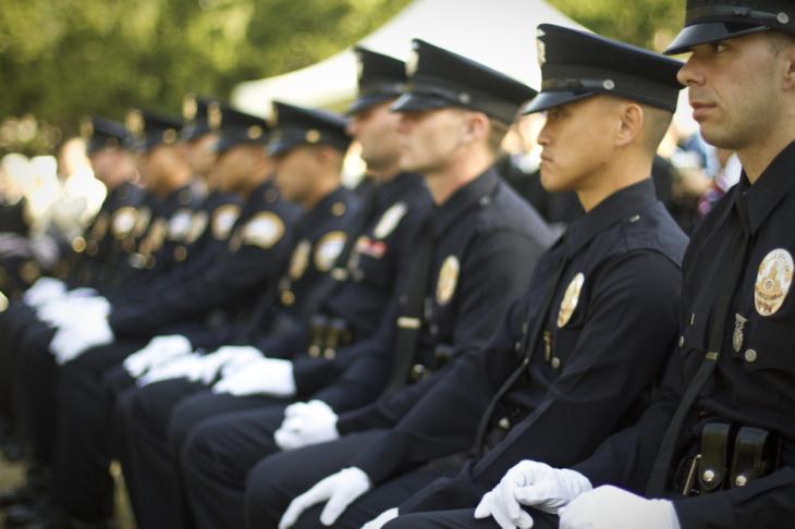 LAPD graduation