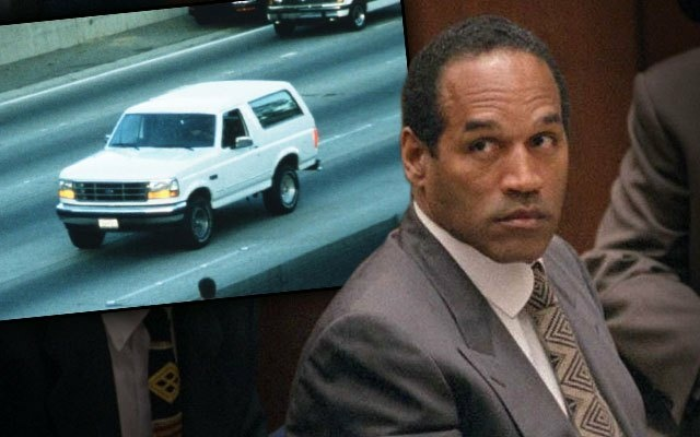 OJ Simpson and the infamous white bronco