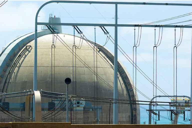 File: The San Onofre nuclear power plant