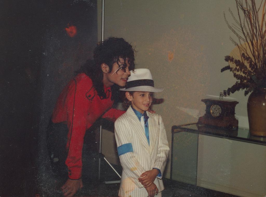 Wade Robson met Michael Jackson more than 30 years ago.