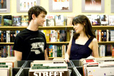 Joseph Gordon Levitt and Zooey Deschanel in 500 Days of Summer