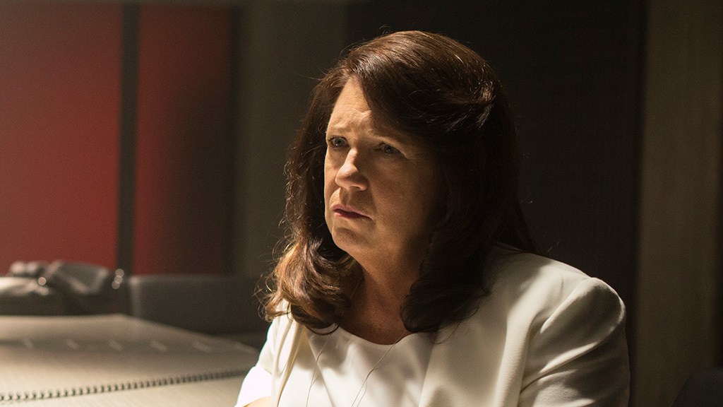 Ann Dowd as Patti Levin in HBO's