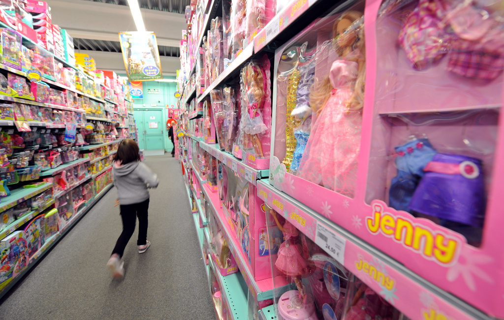 Have toys become increasingly gendered in recent decades?