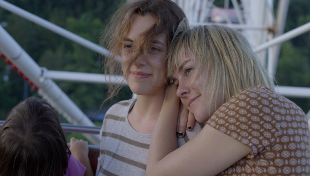 Riley Keough (left) and Jena Malone star in So Yong Kim's latest film,