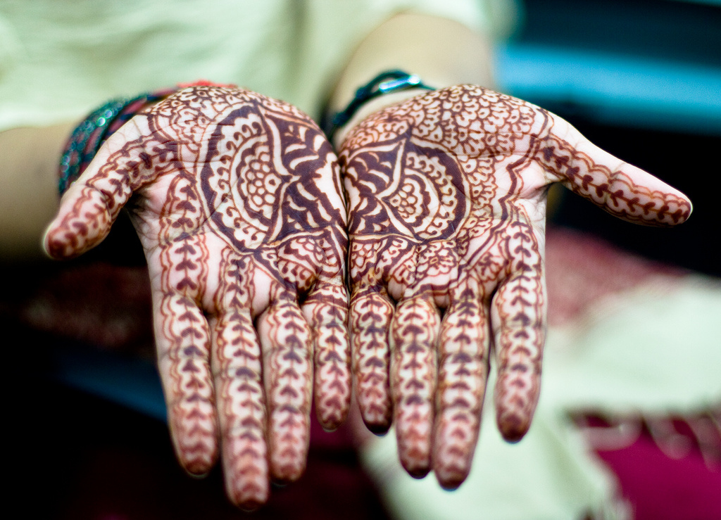 You can get henna tattoos this weekend at the Downey International Food and Music Festival.