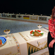 Judy Chicago Dinner Party