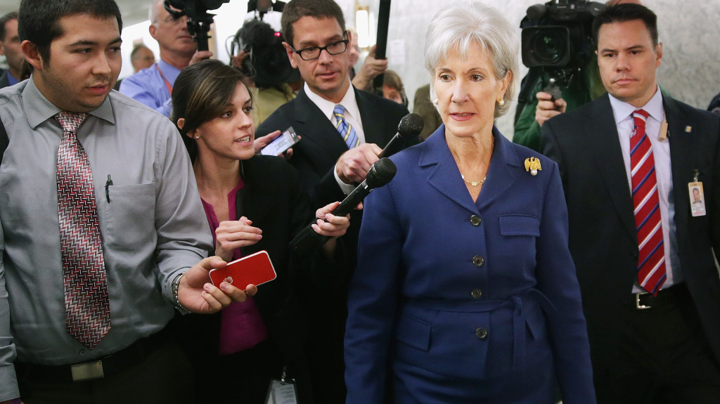 Health and Human Services Secretary Kathleen Sebelius issued a report Wednesday stating that 106,185 Americans selected a health plan in the new marketplace since Oct. 1.