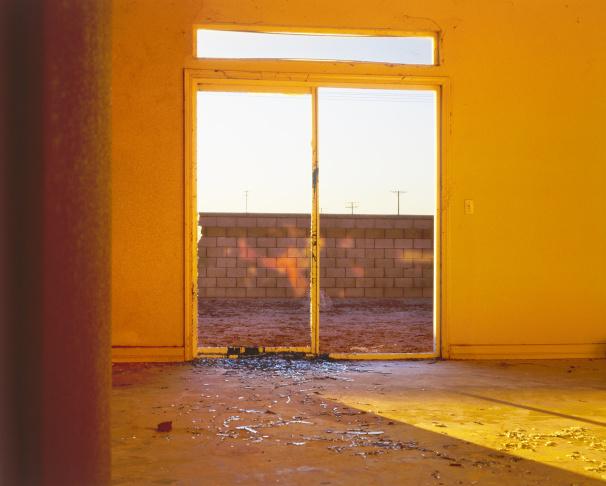 Anthony Hernandez, Rodeo Drive #3, 1984, printed 2014; dye destruction print.