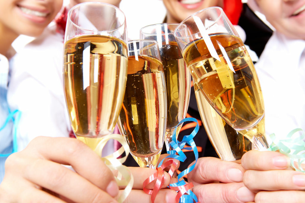 Medical experts warn revelers to drink in moderation on New Year's Eve or risk Holiday Heart Syndrome.