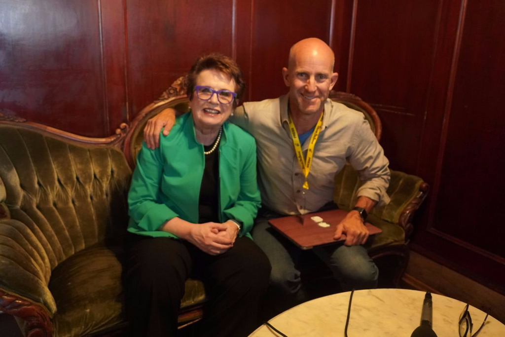 Billie Jean King talks with John Horn about the film