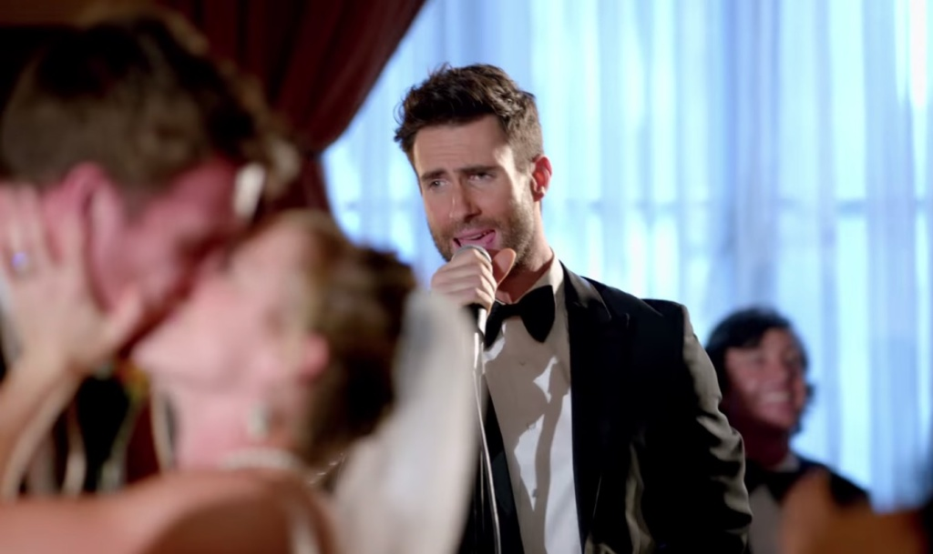Video: Maroon 5 called out for faking 'Sugar' wedding crashing