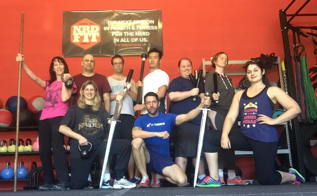 Self-described pop culture nerds have found a home at Nerdstrong Gym.