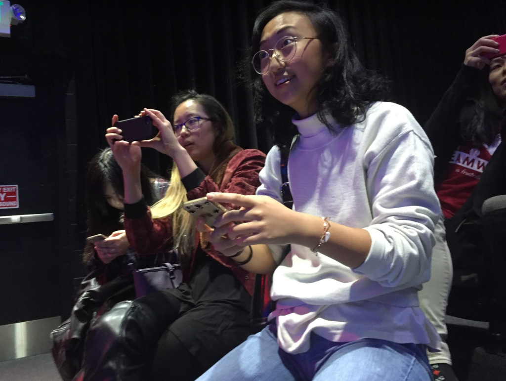Jenevieve Ting, 23, said she may try comedy again after watching the night's show.