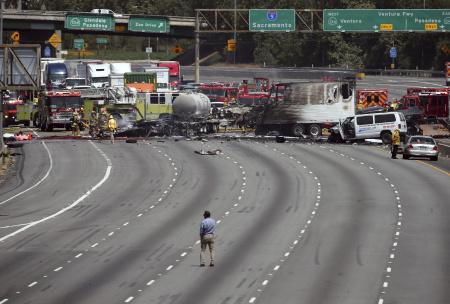Interstate Wreck