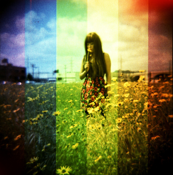 Taken by Satomi with a Diana F+ loaded with Fuji Provia 100 film in Los Angeles.