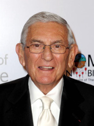 Philanthropist Eli Broad arrives at City of Hope's Music and Entertainment Industry's Spirit of Life Gala in the Diamond Ballroom at the Ritz-Carlton and JW Marriott Hotels on January 13, 2010 in Los Angeles, California