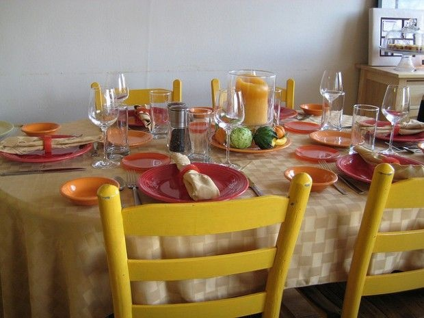 The table is set, November 2007