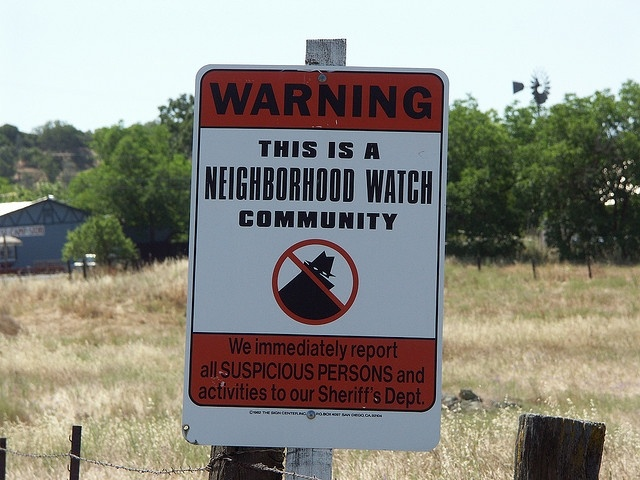 Has the George Zimmerman trial had any effect on how neighborhood watch groups in Southern California operate?