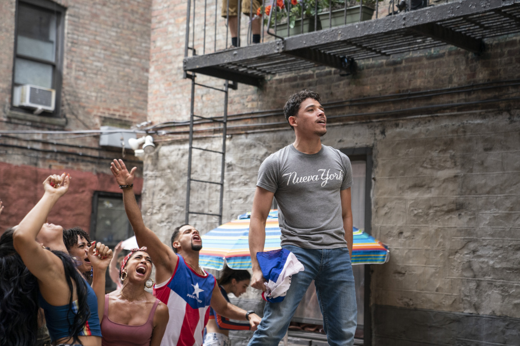 """ANTHONY RAMOS as Usnavi in Warner Bros. Pictures' """"IN THE HEIGHTS."""""""