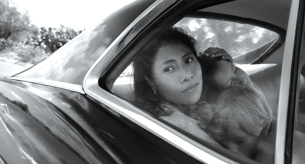 Yalitza Aparicio in the Alfonso Cuarón movie
