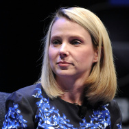 Yahoo President and CEO Marissa Mayer.